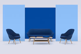 shades of blue for 65 years of boconcept ignant com