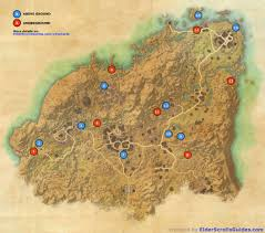 Bal Foyen Treasure Map Rivenspire Skyshards Map Elder Scrolls Online Guides