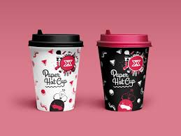 paper cup design vol 2 white black is an item designed for
