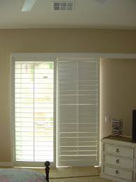 Horizontal Blinds Patio Doors Kitchen Patio Door Window Treatments Track Shutters For Sliding