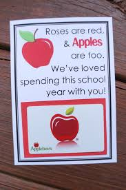 applebee gift card apple themed gifts free printables apples and gift