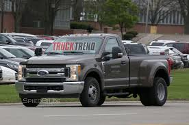 Ford Diesel Dually Trucks - 2017 ford f 350 single cab dualie struts its stuff in the buff