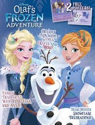 disney olaf u0027s frozen adventure u2013 media lab publishing