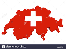 Flag Red With White Cross Cross Europe Switzerland Flag Map Atlas Map Of The World White Red
