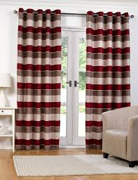 Lined Cotton Curtains Curtains Vertical Striped Curtains For Classy Interior Home