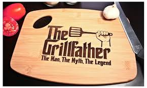 cutting board engraved s day grillfather bamboo laser engraved cutting board
