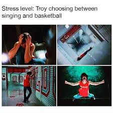 Level Meme - dopl3r com memes stress level troy choosing between singing