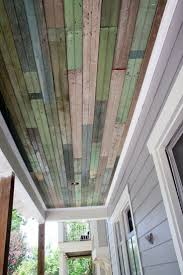 patio ceiling ideas my trip to the salvage yard ceiling yards and porch