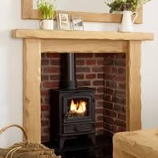 oak fire surround kensington solid french rustic beam