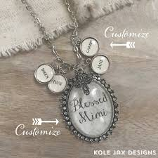 Custom Photo Necklace Ivory Lace Custom Glass Oval Pendant Necklace With Optional Name