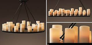 faux candle light fixtures faux candle chandelier the aquaria home and also 3 7876 interior
