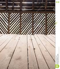wooden floor and slat wall barn stock photo image 70586273