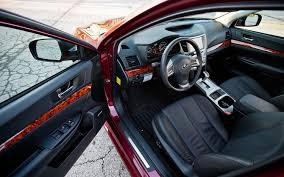 subaru legacy 2016 interior 2012 subaru legacy 3 6r limited automobile magazine