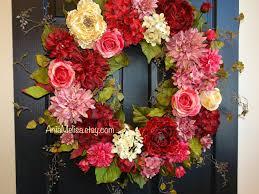 Etsy Easter Door Decorations by Spring Wreaths For Front Door Wreaths Summer Patriotic Wreath
