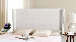 Silver Velvet Headboard by Keegan White Velvet Headboard Headboards Furniture By Safavieh