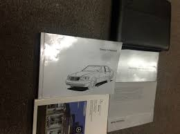 1997 mercedes benz s class s320 s420 s500 s 500 owners manual set