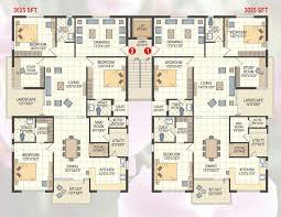 3 bhk apartment floor plan extraordinary 50 apartment floor plans in hyderabad inspiration