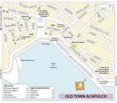 Map Of Ixtapa Mexico by Rg B Format