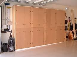 Free Wooden Garage Shelf Plans by 4 Building Garage Storage Cabinets Storage D Free Plans Amazing