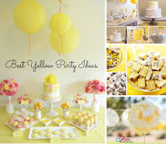 party ideas best yellow party ideas a to zebra celebrations