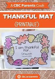 thankful placemats give thanks with these printable thankful placemats play cbc