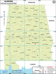 Alabama State Map Alabama Latitude And Longitude Map And Other Maps For Alabama