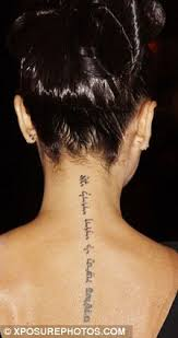 Tattoo Ideas For The Back Of Your Neck Horse Spine Tattoo Women Google Search Stuff Pinterest