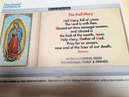 thanksgiving prayer to mother mary catholic billboard ministries about