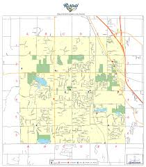Wisconsin Lake Maps by Richfield Wi Official Website Maps
