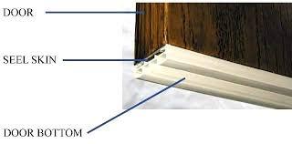 Patio Door Seal Brilliant Exterior Door Bottom Seal Replacement Of Front Weather