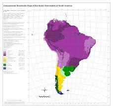 Map Of Colombia South America by Bioclimatic U0026 Biogeographic Maps
