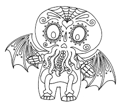 Halloween Decorations Coloring Pages Yucca Flats N M Wenchkin U0027s Coloring Pages Hello Calacathulhu