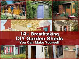 How To Make A Small Outdoor Shed by 14 Breathtaking Diy Garden Sheds You Can Make Yourself