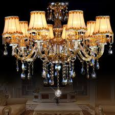 Crystal Beads For Chandelier 6 Lights Antique Style For Living Room Crystal Chandeliers Wholesale