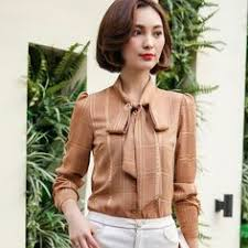 bow tie blouse plus size sleeve blouse with bow tie casual office work