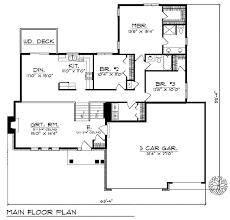 split foyer floor plans unique split foyer ranch 89493ah architectural designs house