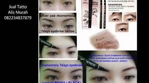 membuat alis dengan henna jual tato alis murah monomola eyebrow eye brow tattoo youtube