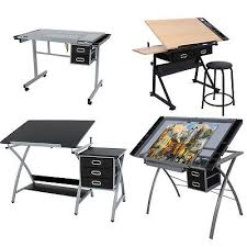 top drafting table adjustable drawing desk drafting table tempered glass top art craft