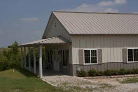 ideal 30 x 50 metal building home w wrap around porch hq