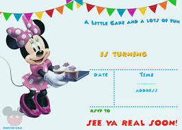 get free printable mickey mouse party invitation template free