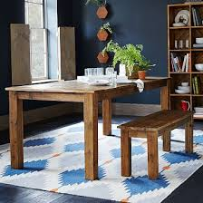 reclaimed wood expandable farm table seats 6 8 1100 60