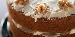 coffee walnut layer cake recipe lifestyle food