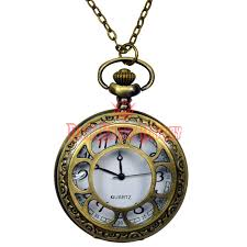 vintage necklace pocket watch images Victorian window pane pocket watch fj 103 from dark knight armoury png