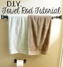bathroom stylish bathroom towel bars for bathroom furniture ideas