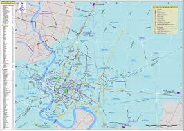 bangkok map tourist attractions bangkok tourist map bangkok thailand mappery