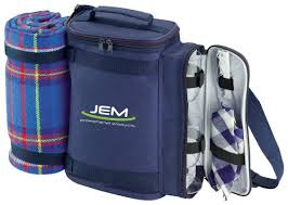 corporate christmas gift idea 78 u2013 cooler bag with picnic rug