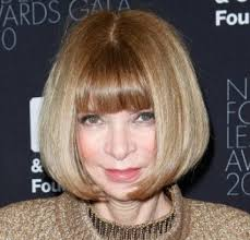 hairstyle for50 with a fringe hairstyle for 50 the always chic fashion editor opts for a sleek