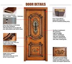 latest design wooden door single safety door design buy zen door