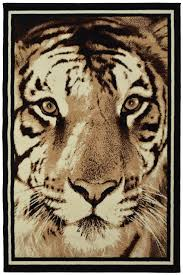 buy animal print tiger face rugs online ahoc ltd