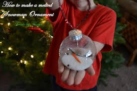 melted snowman ornament tutorial treats by